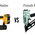 What are the differences between Brad Nailer vs Finish Nailer?