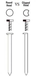 Clipped Head Vs Round Head Framing Nailers