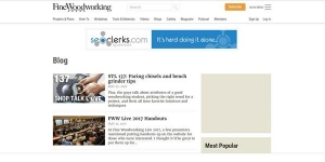 Fine Woodworking - top woodworking blogs