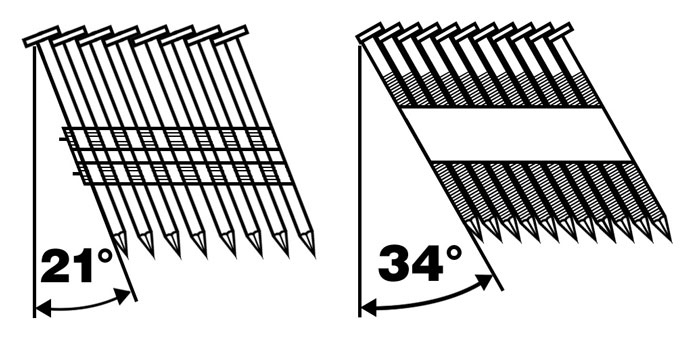 What are Framing Nailer Angle Differences?