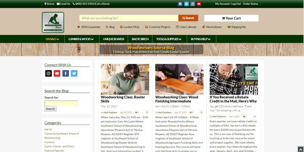 Top 25 Woodworking Blogs That Will Help You Become A Better Woodworker