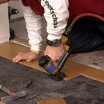 how to install an engineered hardwood floor